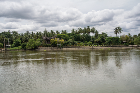 The Mae Klong is a river in western Thailand that begins at the confluence of the Khwae Noi and the Khwae Yai River in Kanchanaburi, passes Ratchaburi and empties into the sea in Samut Songkhram.