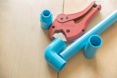 kunststoff rohr: Schere zum Schneiden von Kunststoffrohr