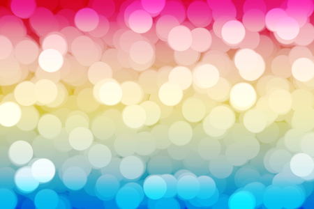 Abstract pink green bokeh background