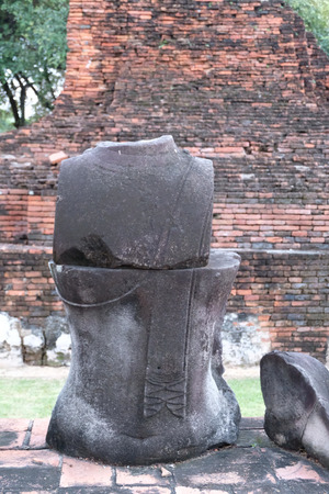 Buddha Body in Ayutthaya