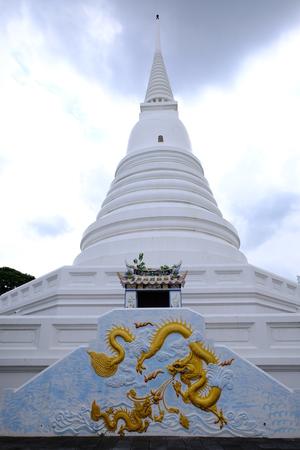 Royal pagoda from Wat Chaloem Phra Kiat Worawihan Nonthaburi