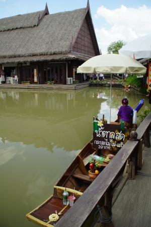 Ayothaya Floating Market Stock Photo - 13744815