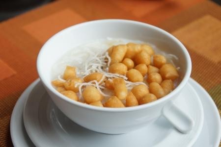 Thai Native Style Rice Porridge photo
