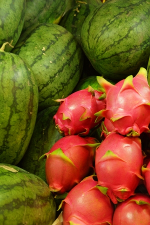 Dragon Fruits Stock Photo