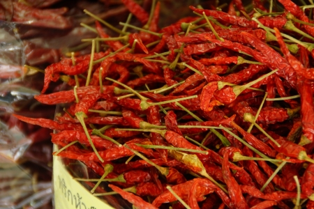 Dried Chilli Stock Photo - 13850023