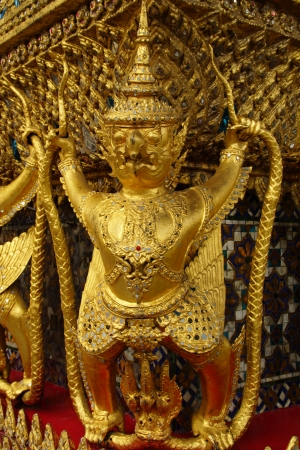 Demon Guardian and Architecture of Grand Palace, Bangkok, Thailand