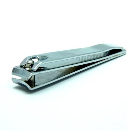Nail Clipper; Nail Scissor on White Background photo