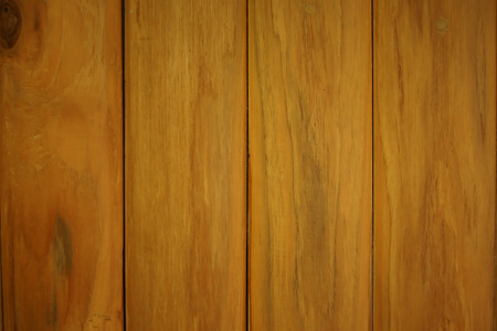 Closeup Golden Teak Wood Plank Texture and Background