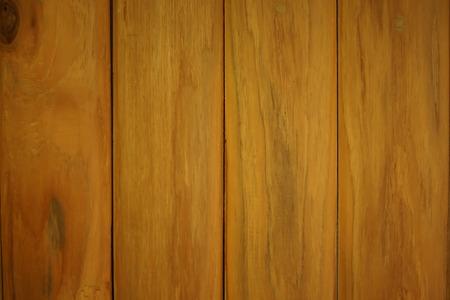 Closeup Golden Teak Wood Plank Texture and Background photo