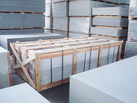 Indoor Factory Warehouse for Fiber Cement Board Storage