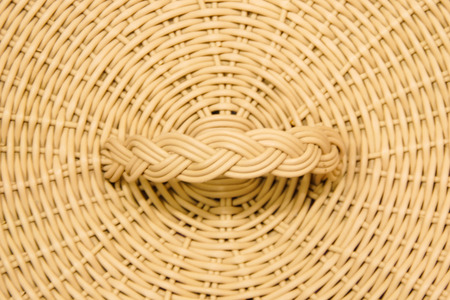 Texture of Bamboo Basketwork Background