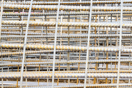 reinforcing: Reinforcing Steel Bars Used in Construction