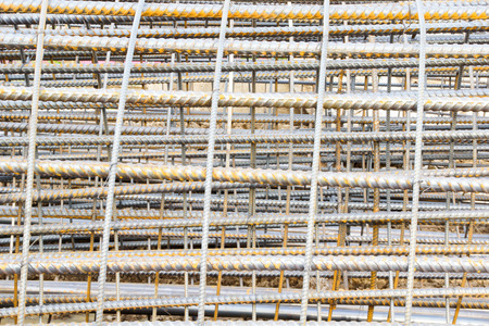 Reinforcing Steel Bars Used in Construction photo