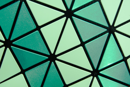 Hexagon Polymer Texture Background Stock Photo