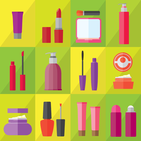 lipstick: Beauty and Fashion Collection - Vector Silhouette