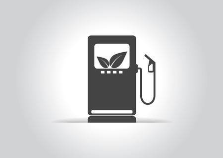gas icon: Ecology bio gas icon.