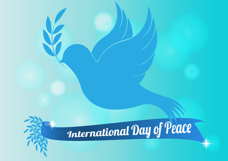 peace day: International Peace Day  infographic designs  vector illustration Illustration