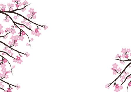 Cherry blossom flowers background sakura pink flowers background cherry blossom flowers background sakura pink flowers background stock vector 68116020 mightylinksfo