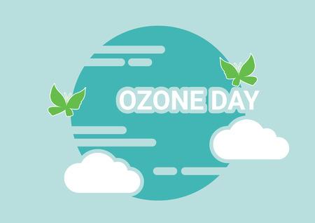 World Ozone Day.vector illustration
