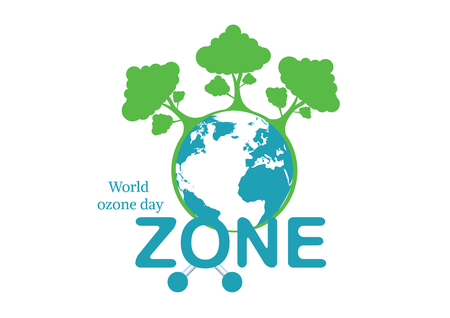 World Ozone Day.vector illustration Banco de Imagens - 83314267