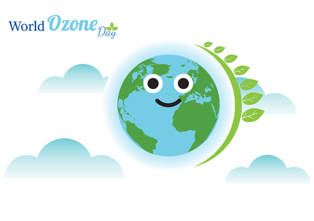 World Ozone Day vector illustration