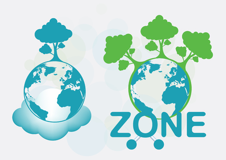 World Ozone Day vector illustration