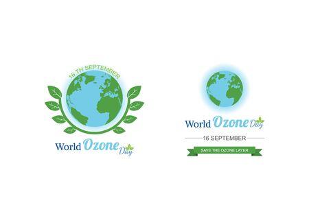 World Ozone Day. vector illustration Ilustrace