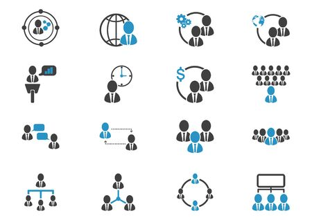 people icon business Vector illustration Ilustrace
