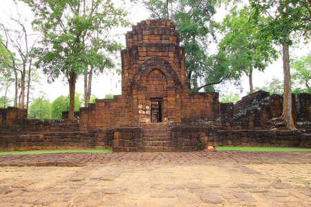 Mueang Sing Historical Park in Sai Yok district, Kanchanaburi province, Thailand