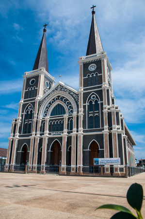 immaculate: The Cathedral of the Immaculate Conception at Chantaburi in Thailand