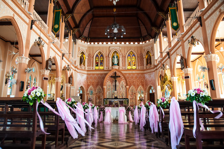The Cathedral of the Immaculate Conception at Chantaburi in Thailand