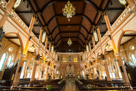 immaculate conception: The Cathedral of the Immaculate Conception at Chantaburi in Thailand
