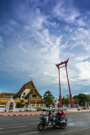 Giant Swing in bangkok thailand photo