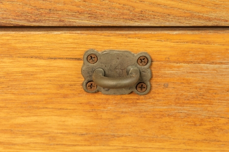 hasp: hasp and wooden wall.
