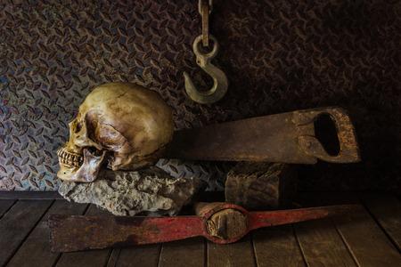 cadaver: Still Life with a Skull concept on the art.