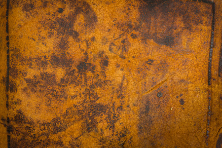 laceration: Dark Antique Old Leather Background. Great texture details with space for text input