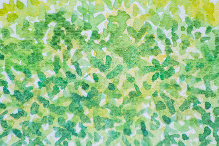 Watercolor background in abstract format is used for illustration. Stock Photo