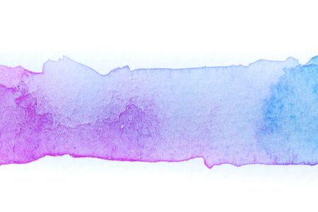 Abstract handmade watercolor.It is wet texture background with paint brushes on the white paper. Picture for design art work.Or use for illustrations.