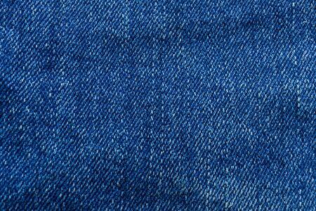 blue jeans fabric texture background. Standard-Bild