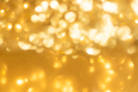 abstract Gold colorful defocused circular facula,abstract background.