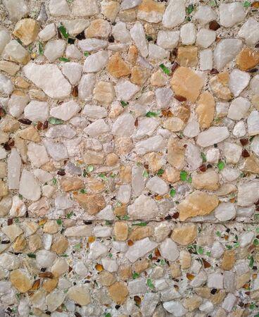 Stone translucent stones texture marble background, gravel