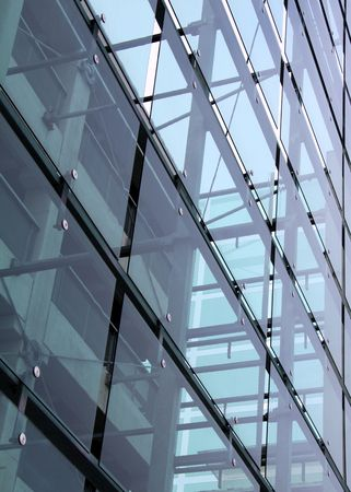 Corporate glass construction