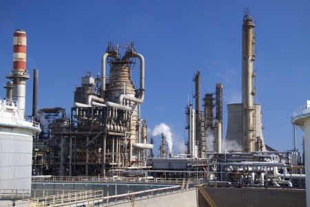 corporation: Oil refinery in Milazzo, Scicily in Italy
