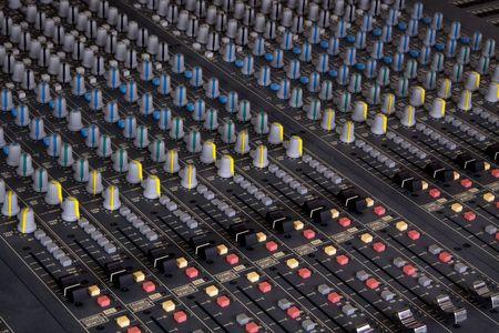 pult: Pult miscelazione Pro presso uno studio di registrazione  Archivio Fotografico