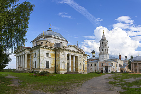 Boris and Glebs cathedral in Borisoglebsky Monastery Torzhok Tver region