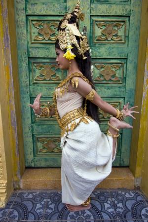 of siam: Apsara Dancer beautiful supernatural female in asian mythology