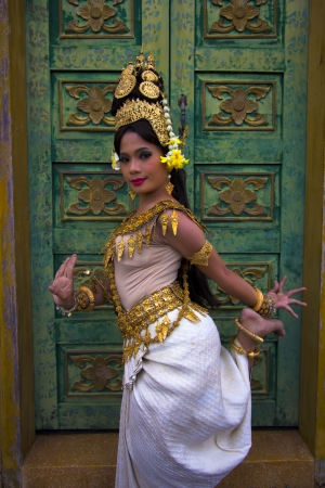 apsara: Apsara Dancer beautiful supernatural female in asian mythology