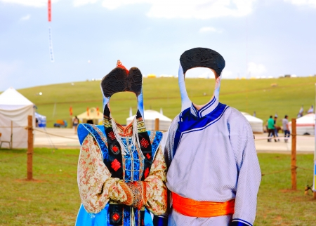 nomad: naadam camp area in ulaanbataar