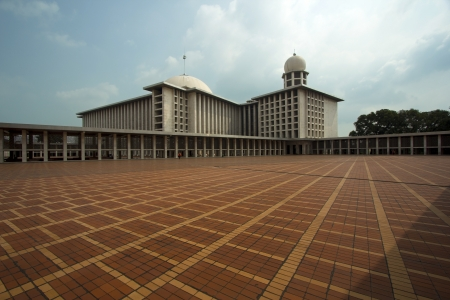 istiqlal mosque, jakarta, indonesia. Forth biggest in the world