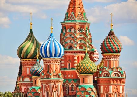 palacio ruso: Catedral de San Basilio, Moscú, Rusia